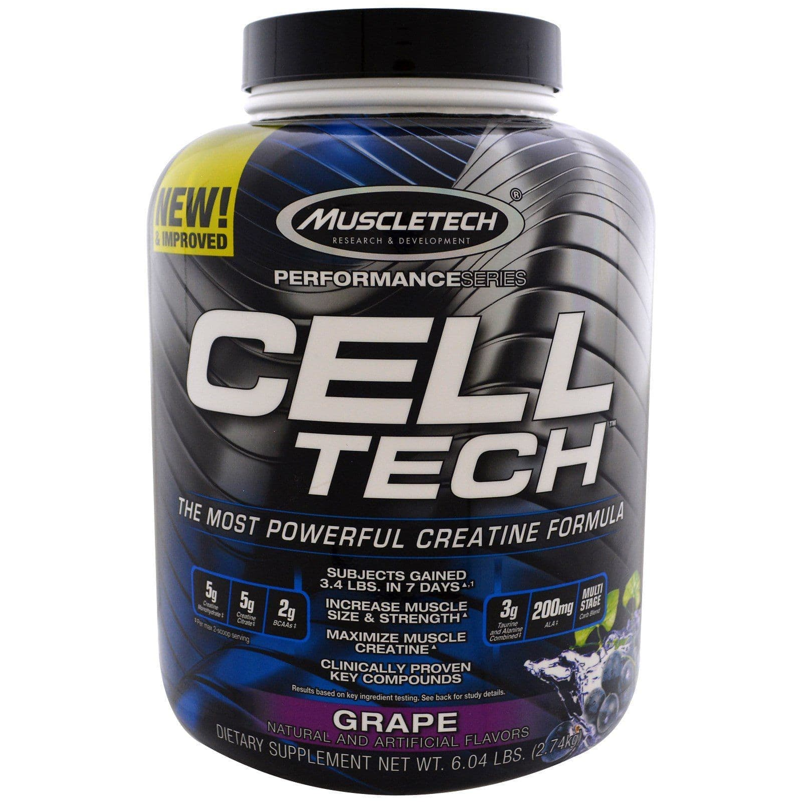 Muscletech Cell-Tech Performance 2,7кг виноград